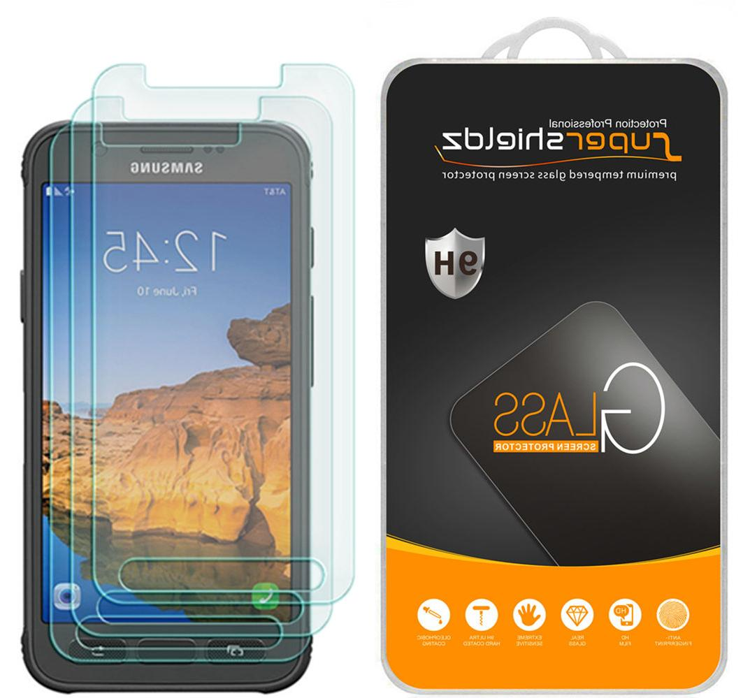 3X Supershieldz Samsung Galaxy S7 Active Tempered Glass Scre