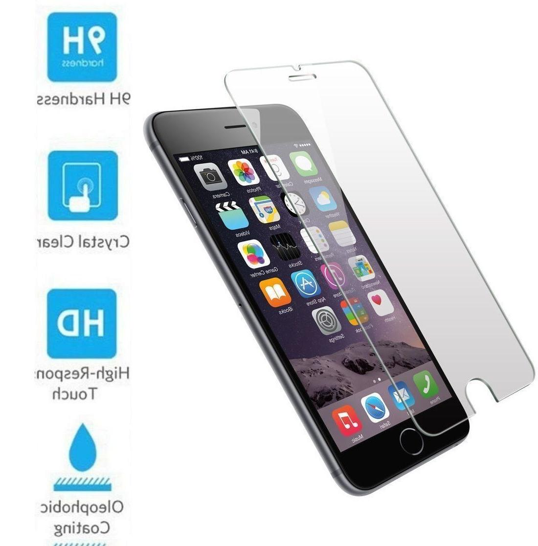 3D Coverage Tempered Glass Protector Cover For 7 +