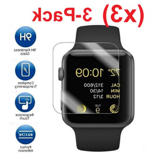 3Pack Glass Protector Watch Series 1 2 3 38mm/42mm