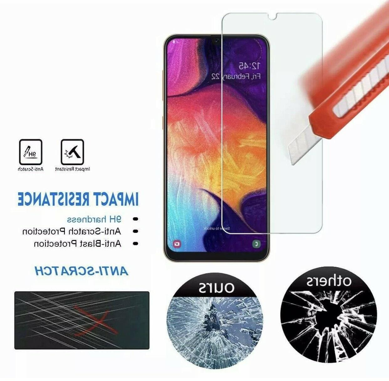 2-Pack Premium Tempered Glass Screen For Galaxy A50