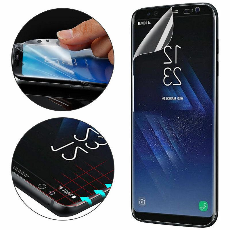 5X Full Cover 3D Screen For Galaxy S7 Edge S9