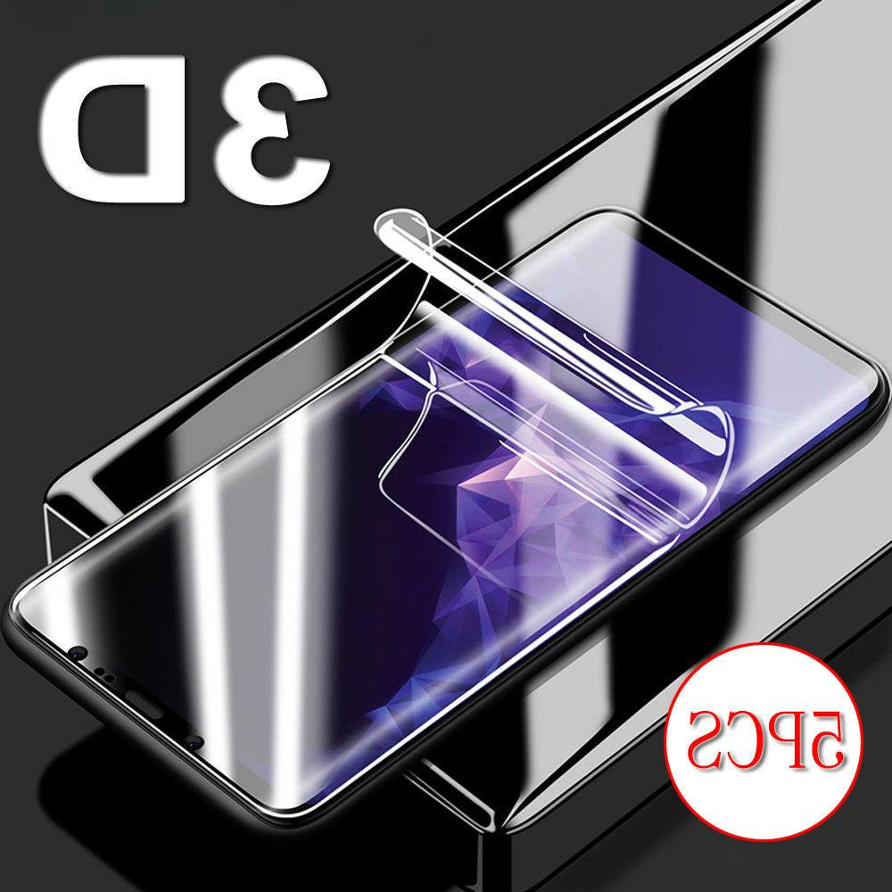 5x hd full cover 3d curved screen
