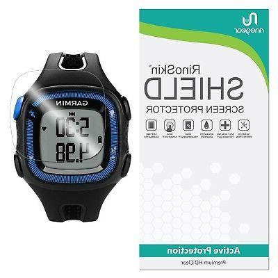 Screen Protector Compatible with Garmin Forerunner 15 RinoG