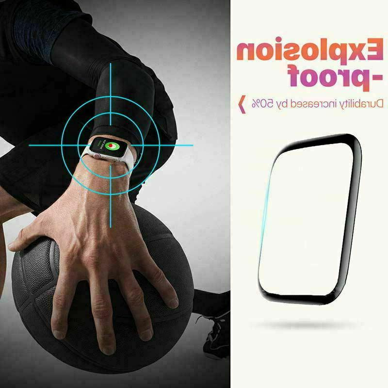 6D Tempered Protector Apple iWatch 1 38/40/42/44