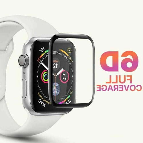 6D Tempered Glass Protector iWatch 4 3 2 1 mm