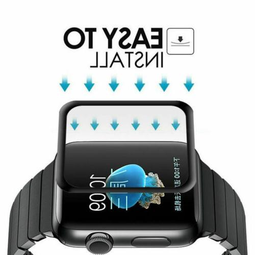 6D Screen Protector Apple iWatch 3 1 38/40/42/44 mm