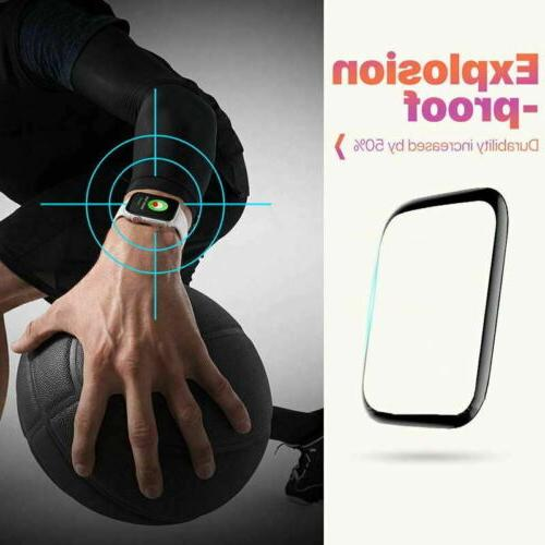 6D Tempered Protector For iWatch 3 2 1 38/40/42/44 mm