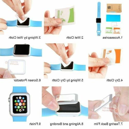 6D Tempered Protector For Watch iWatch 3 1 mm