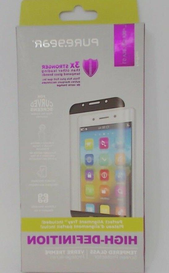 #821  PureGear High Definition Tempered Glass Screen Protect