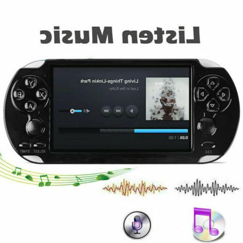 8GB Handheld PSP Game Consoles Player