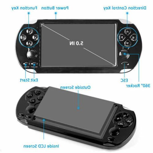 8GB PSP Game Consoles Built-in 10000 ''