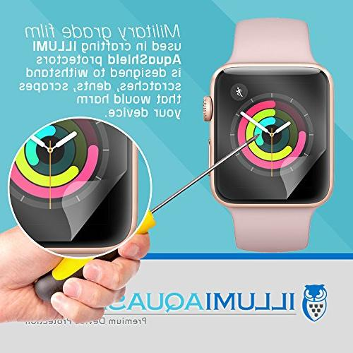Apple Protector 38mm AquaShield for Apple Watch Anti-Bubble UV-Resistant