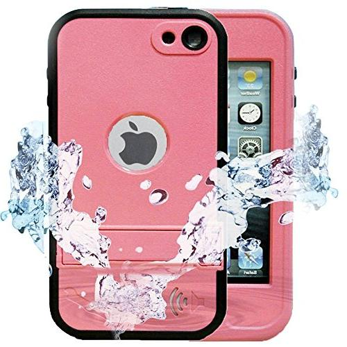 Comsoon iPod 5 iPod 6 Waterproof Case,iPod Touch Defender Ca