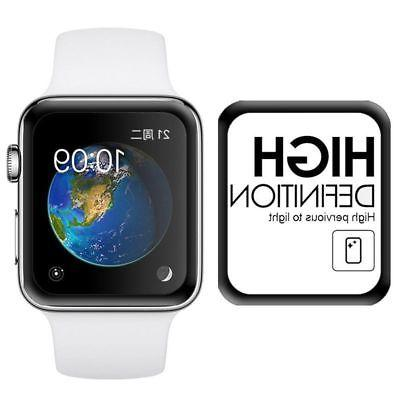 For Apple 38mm Tempered Glass Film Full 3D Protector