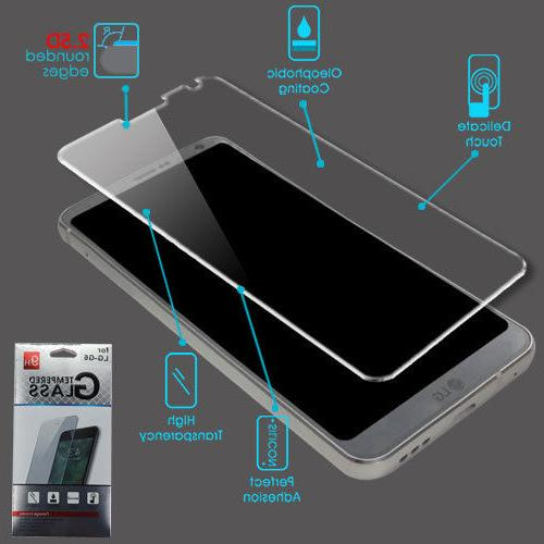 For LG G6 H872 ShockProof Tempered Glass Screen Protector Fi