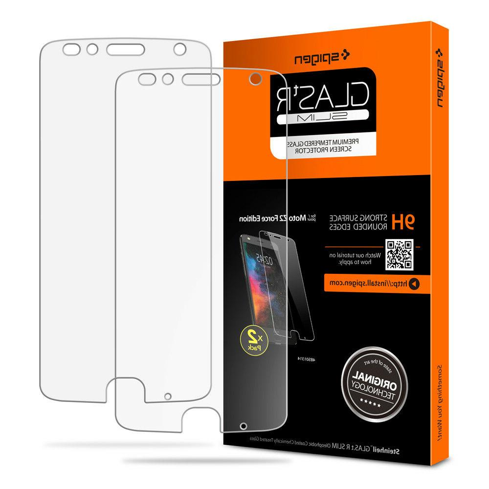For Moto Z2 Force Edition Screen Protector  Tempered Glass