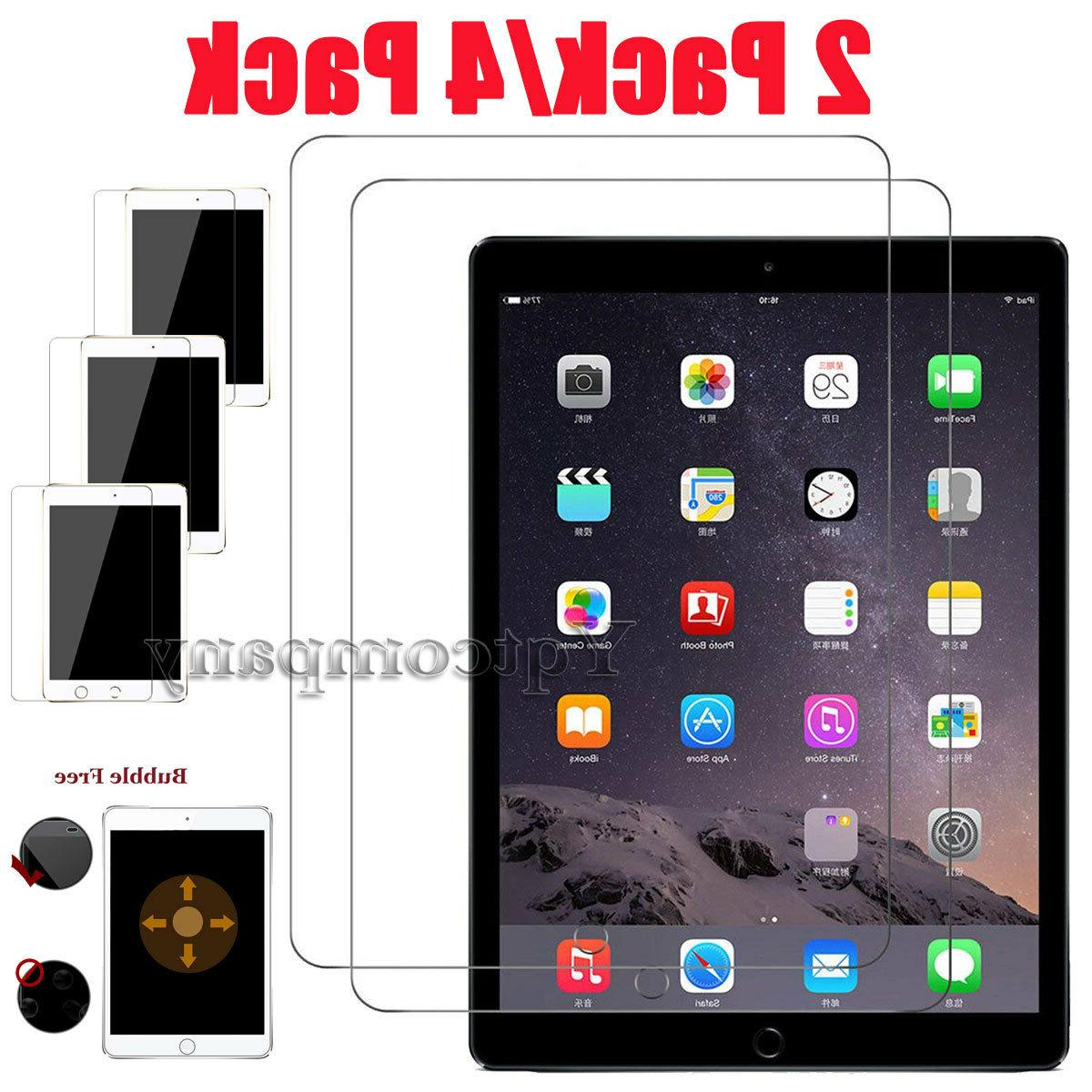 For New iPad 6th Generation 9.7 inch 2018 Tablet Tempered Gl