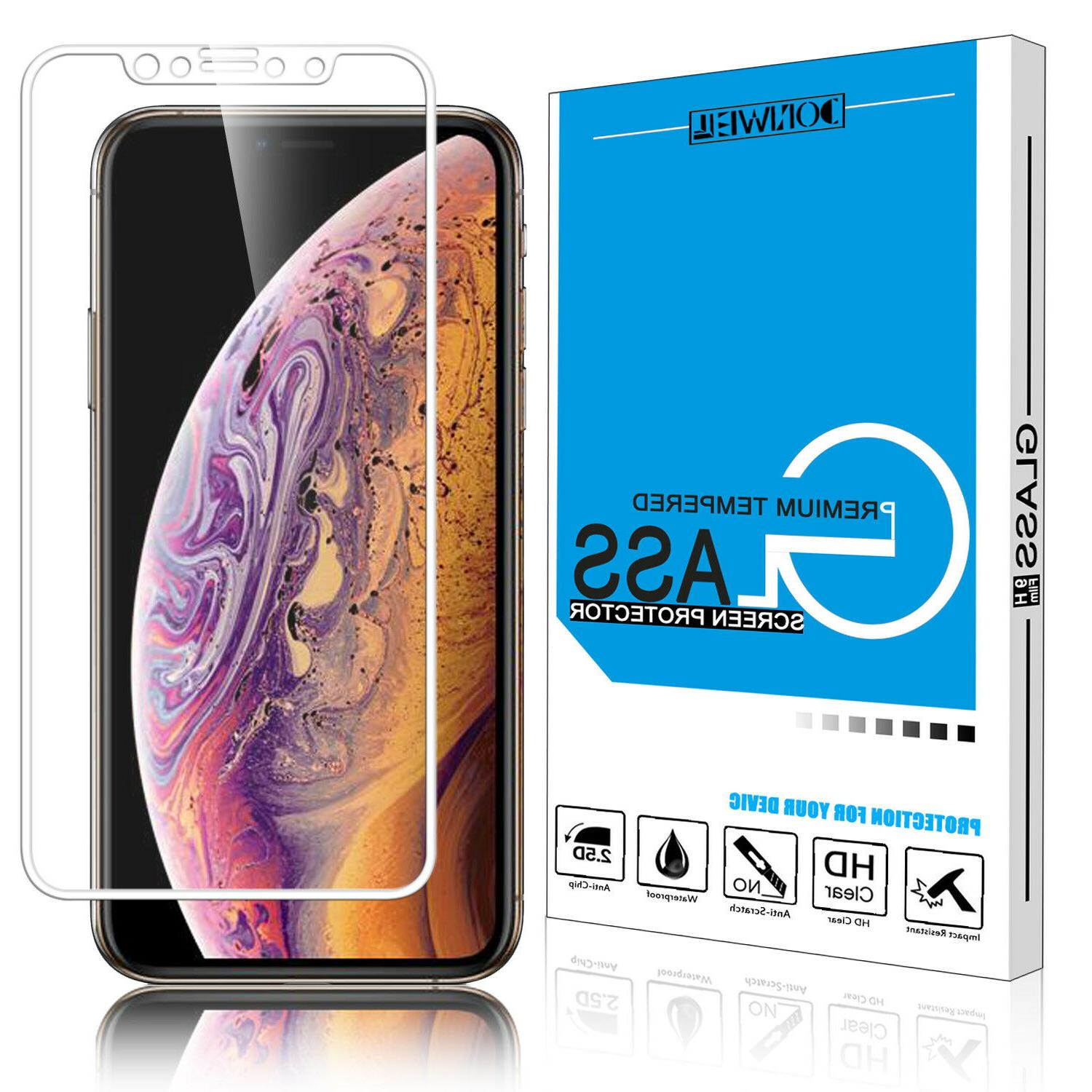 For X/XS Full Coverage Tempered Screen Cover
