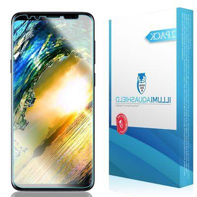 Galaxy S9 Screen Protector , ILLUMI AquaShield HD Clear Anti