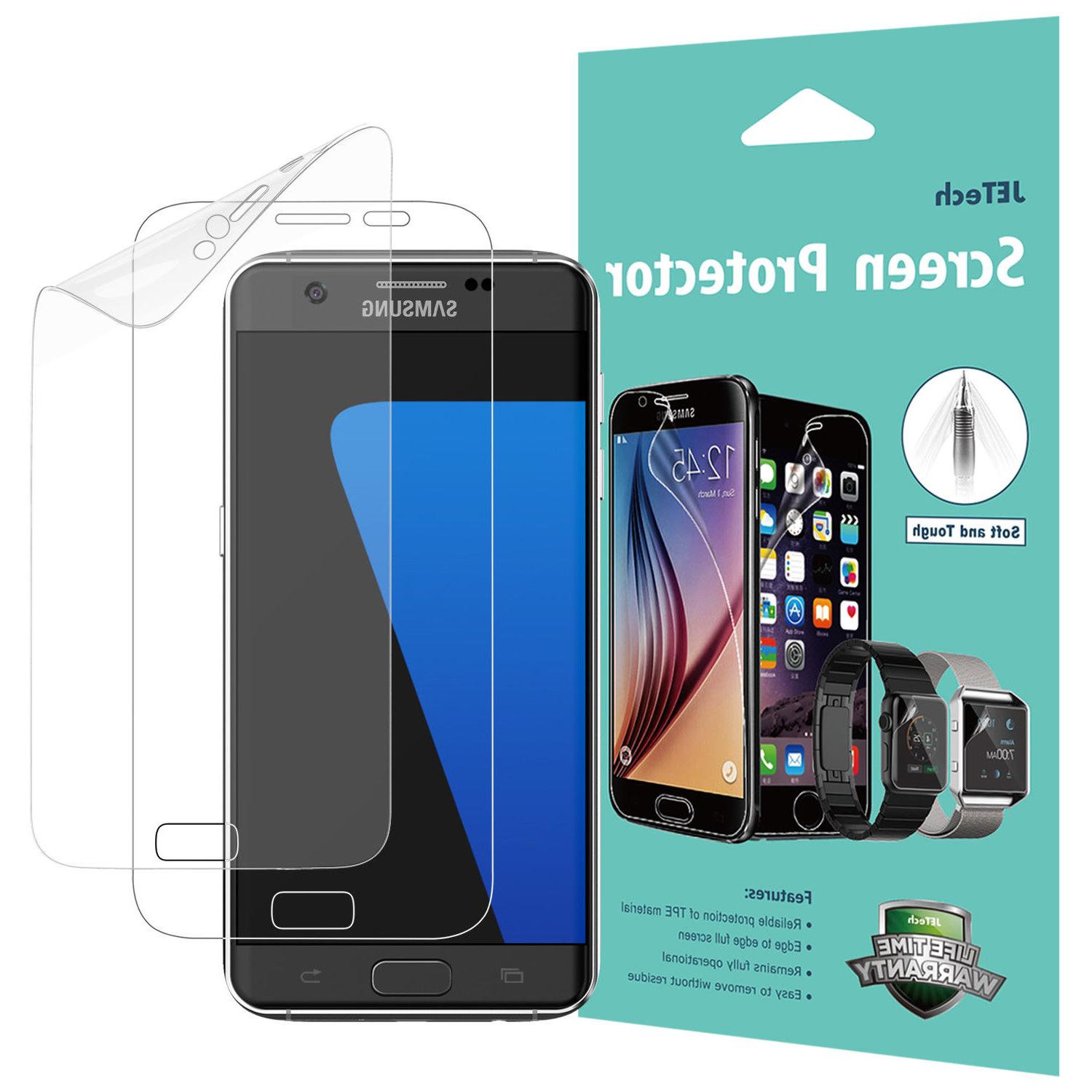 JETech 2-Pack Screen Protector for Samsung Galaxy S7 TPE HD