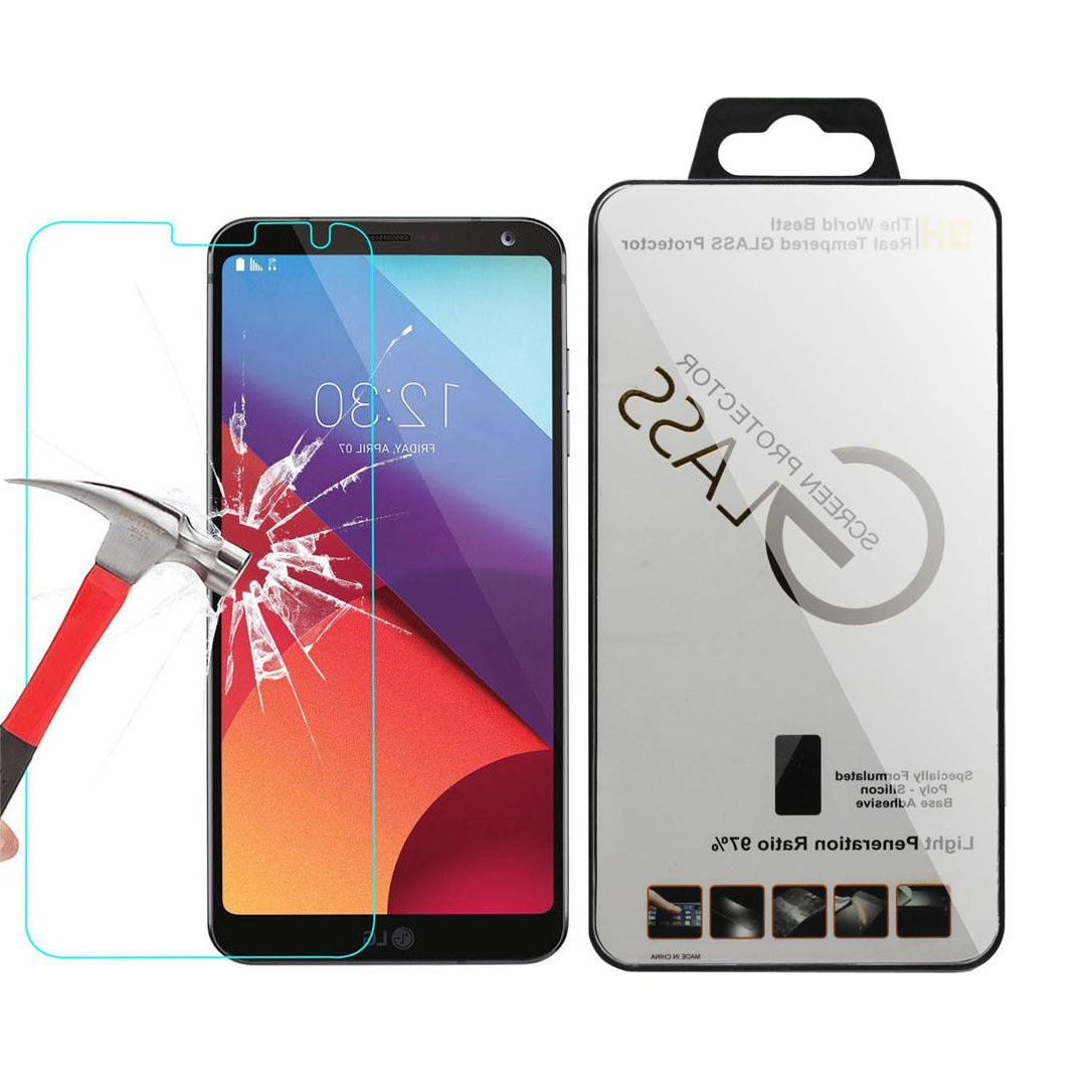 Lots Clear Tempered Glass Screen Protector Film Saver Cover