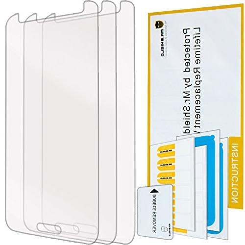 Mr Shield For Samsung Galaxy S5 Screen Protector   with Life