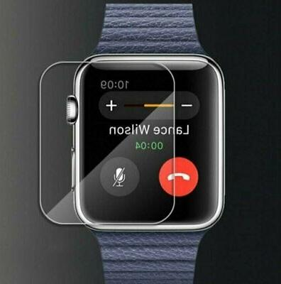 New For Apple Watch Premium Slim Tempered Glass Film Screen