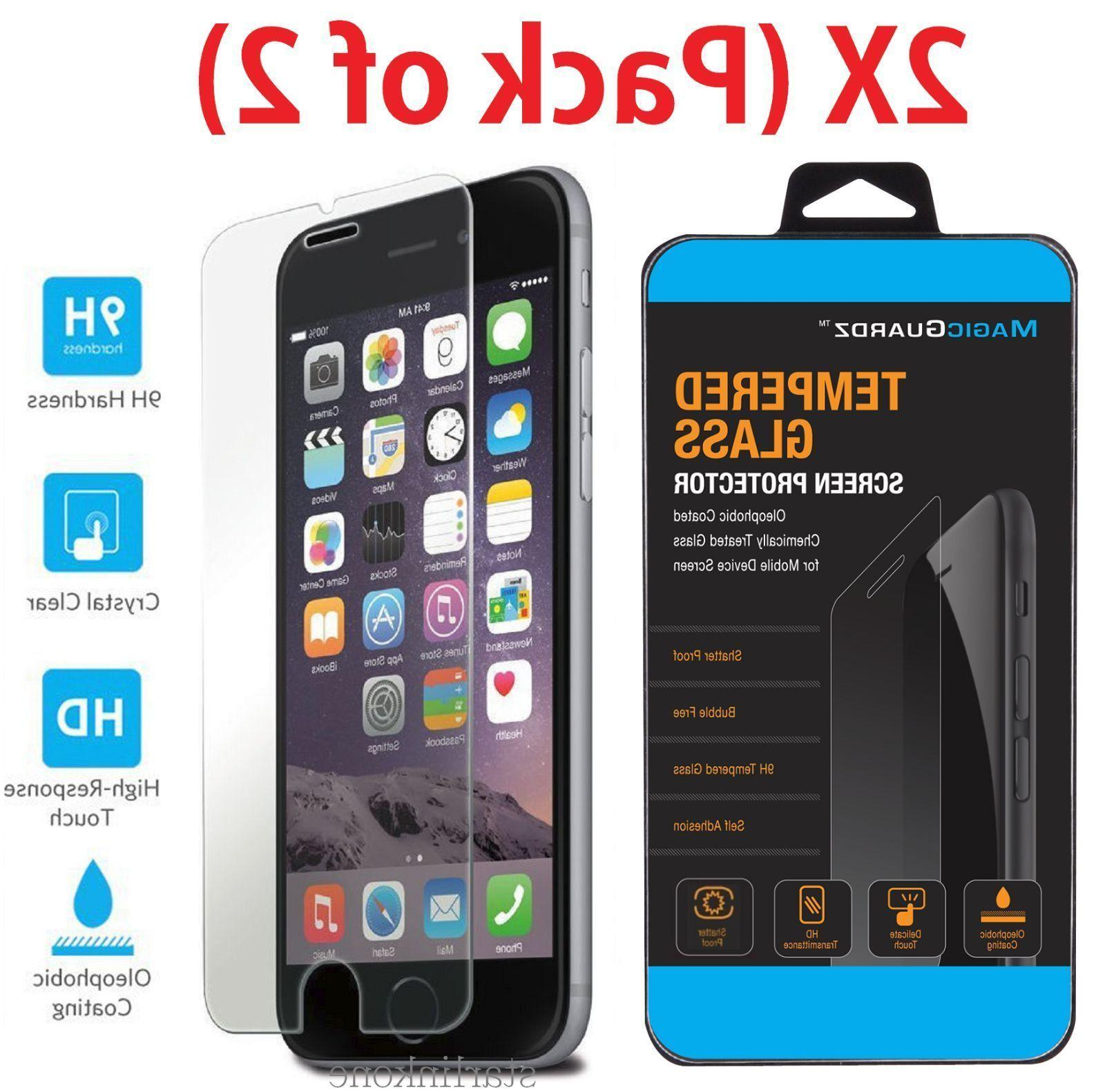 New Premium Real Tempered Glass Film Screen Protector for iP