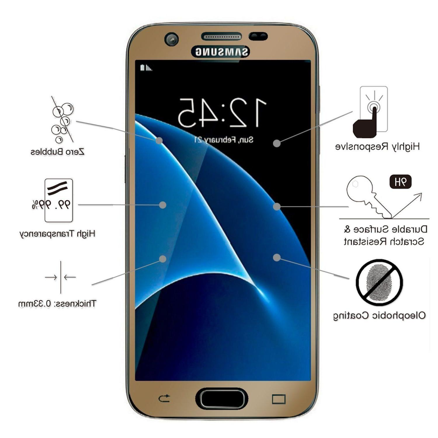 Premium Glass For Samsung Galaxy S7 Protector
