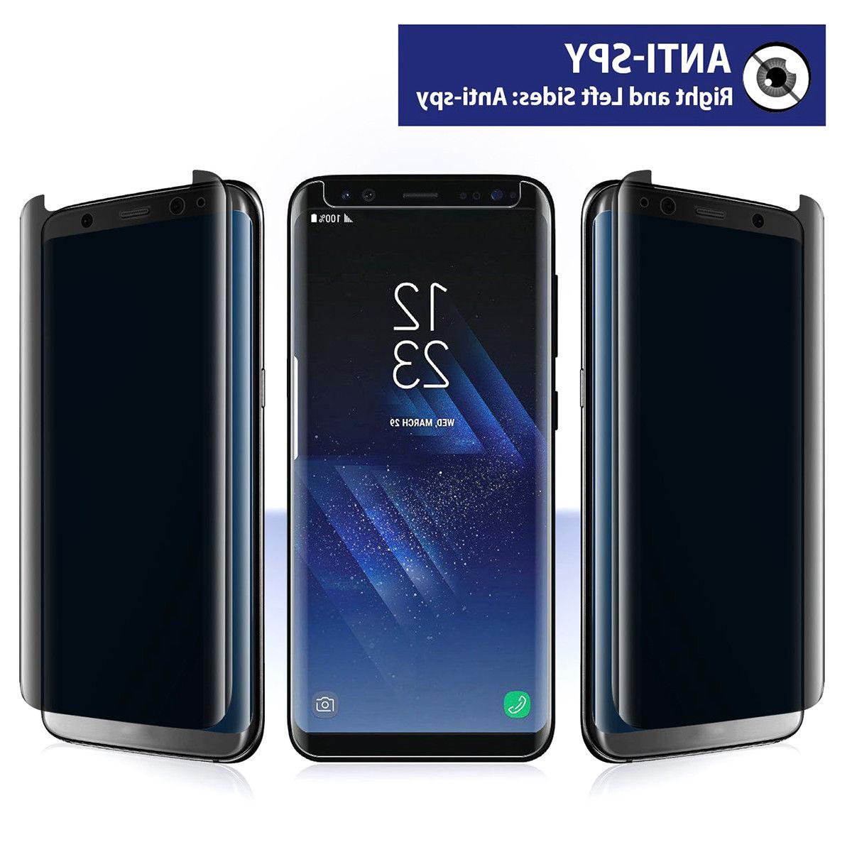 Privacy Screen protector Tempered Galaxy S8