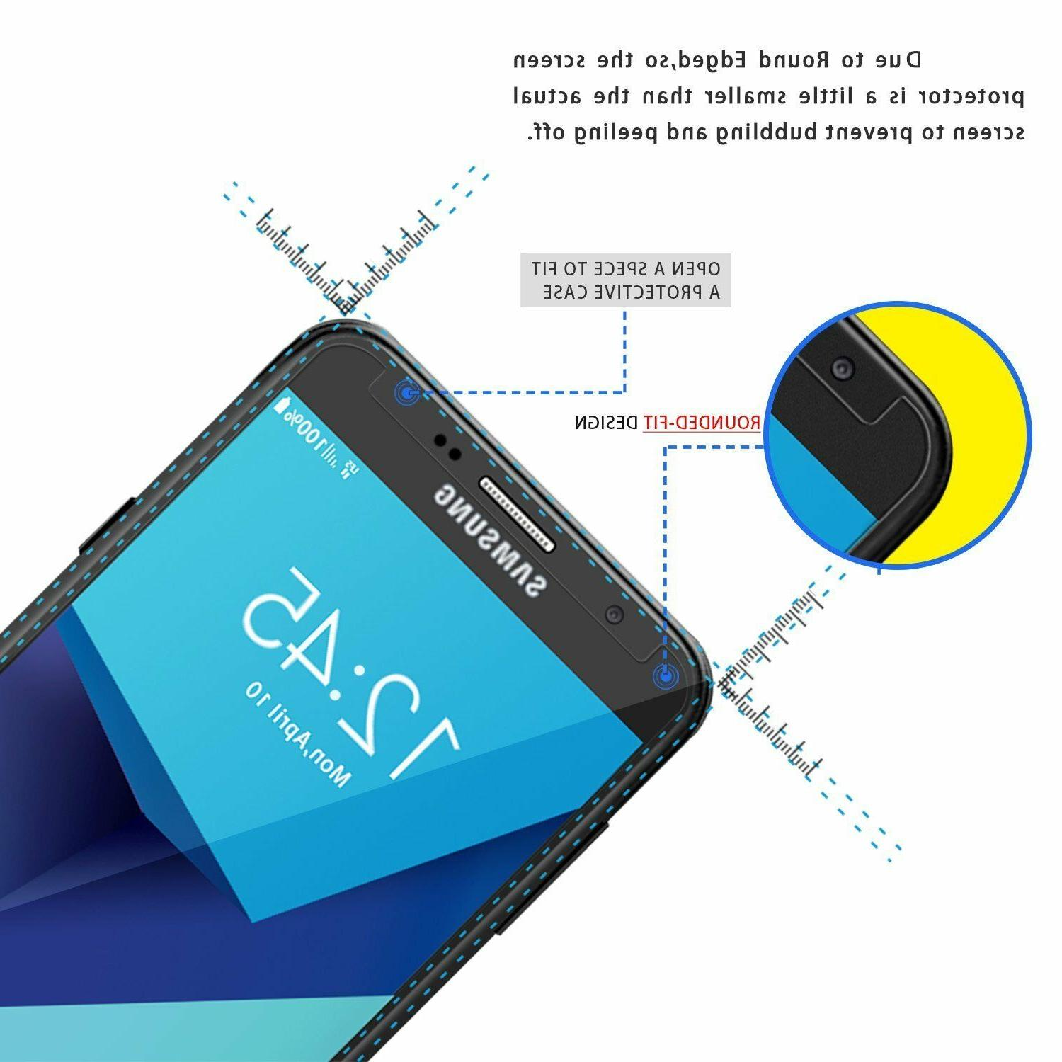 Samsung Galaxy Shockproof Tempered Screen