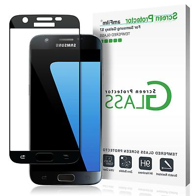 Samsung Galaxy S7 amFilm Full Cover Tempered Glass Screen Pr