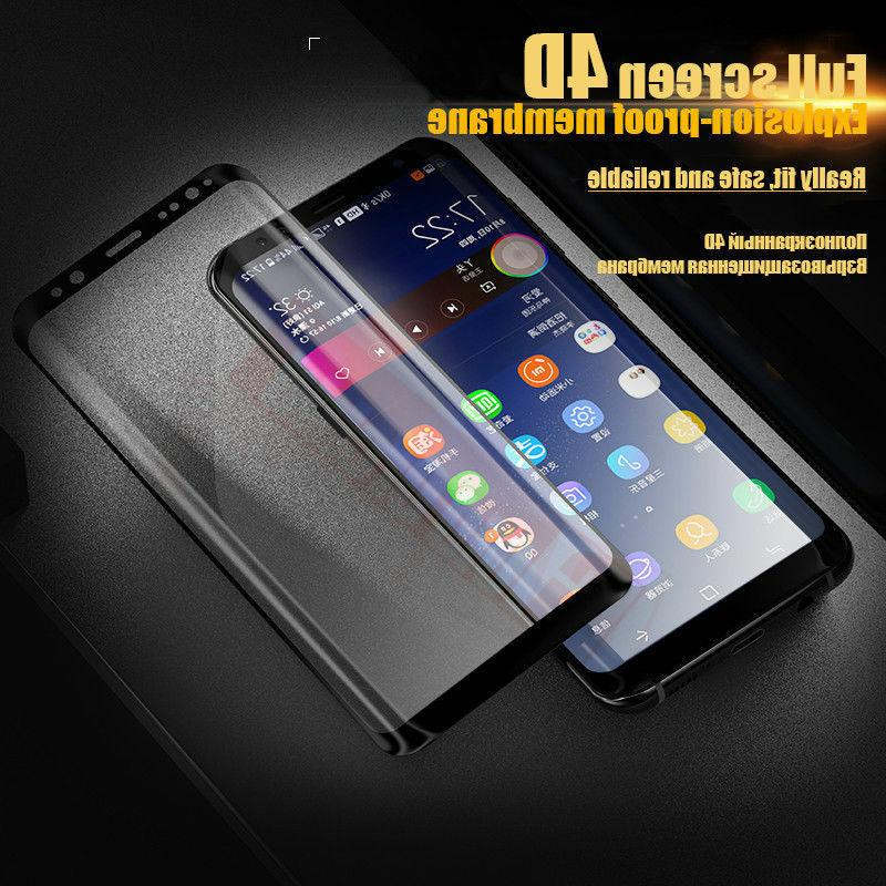 Samsung S8 Plus Note 8 4D Full Cover Screen Protector