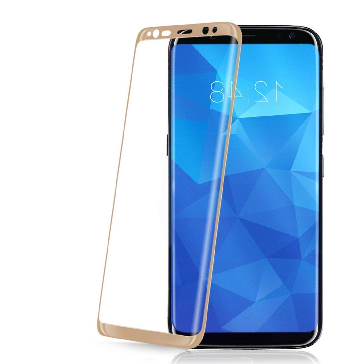 Samsung S9 Plus Note 8 9 Full Cover 4D Glass Screen