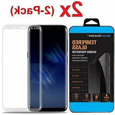 Samsung Galaxy S9 S8 Plus Note 8 9 Full Cover 4D Tempered Gl
