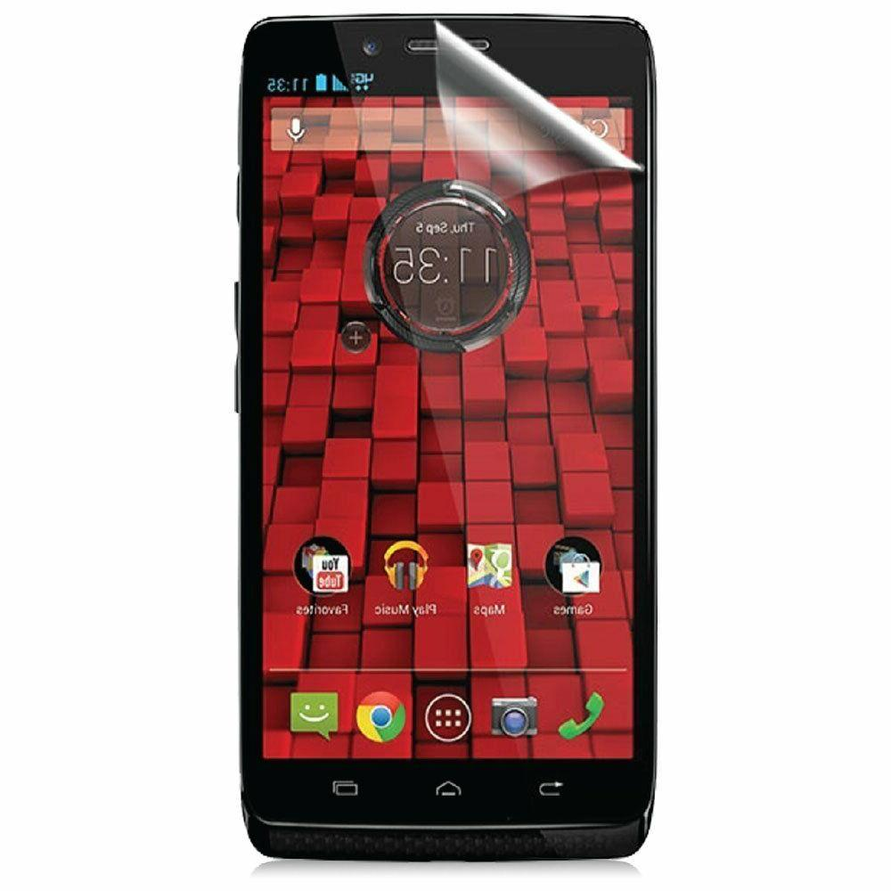 ScreenWhiz Screen Protector 3-Pack, Motorola Droid Maxx