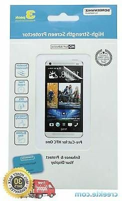 ScreenWhiz Screen Protector 3-Pack for HTC One