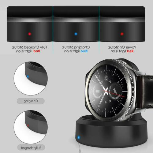 Tempered Glass Qi Wireless Charger Gear S2 S3