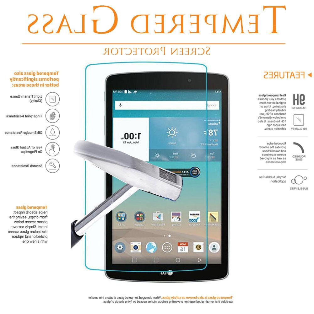 Tempered Glass Screen Protector for LG G Pad 7 F F2 8.0 X8 X