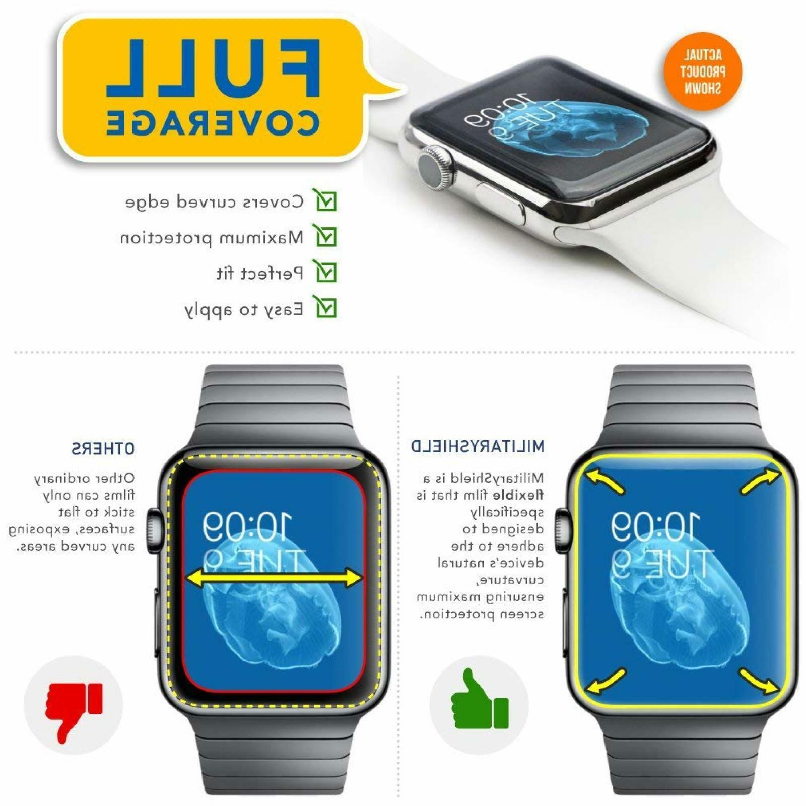 Watch Screen Protector HD Armorsuit For Apple Watch Series