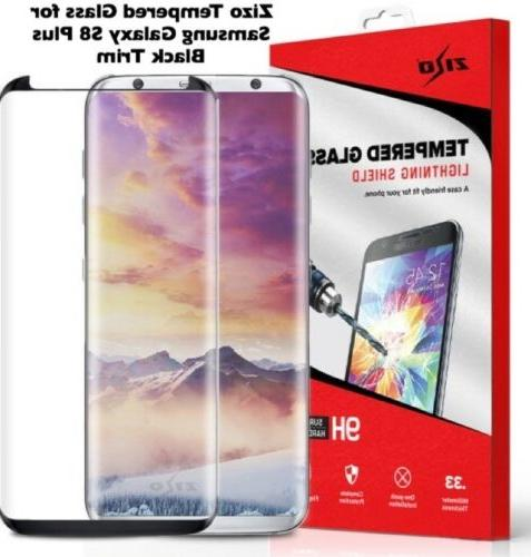 ZIZO TEMPERED GLASS Case Friendly Protector For Galaxy Plus