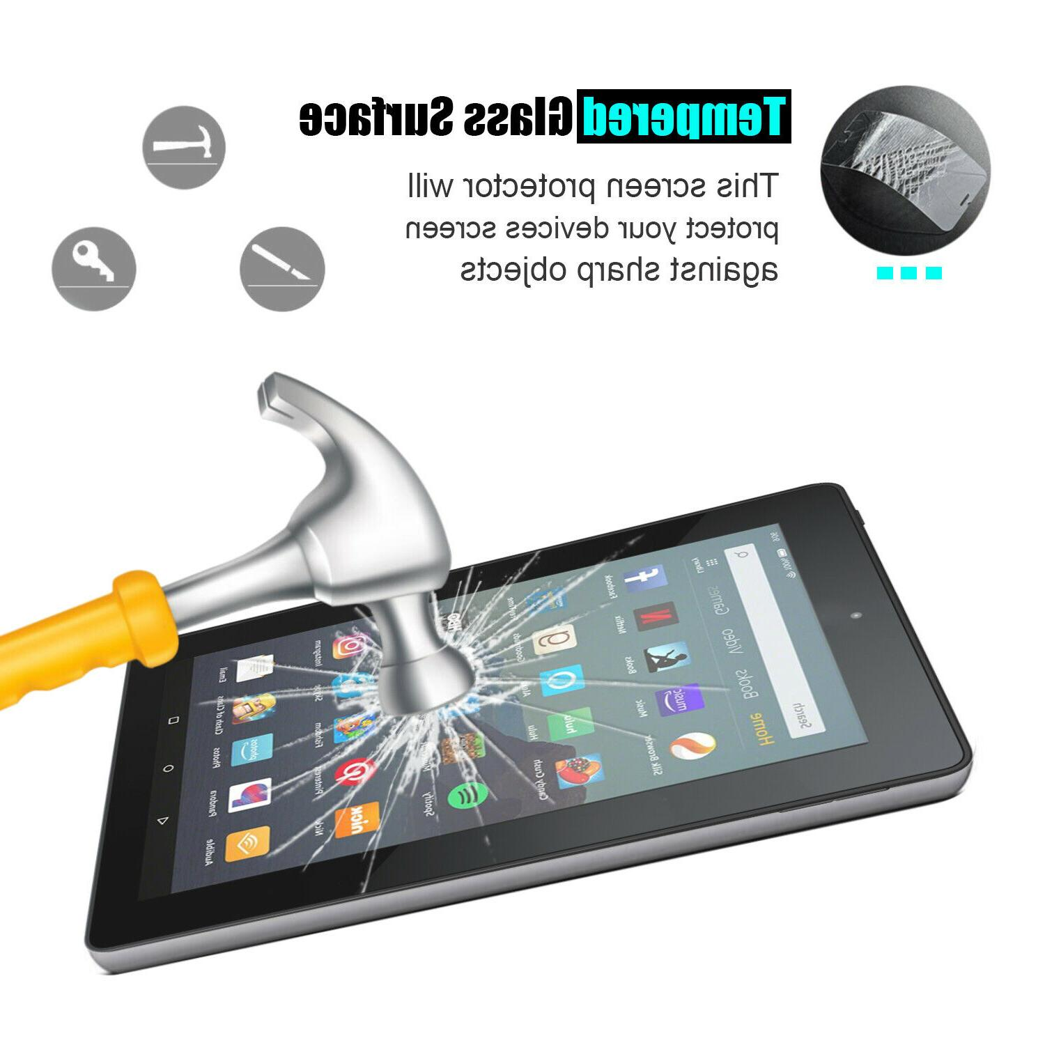 Amazon Kindle 2017/2019/Fire 7 9th Tempered Glass Protector