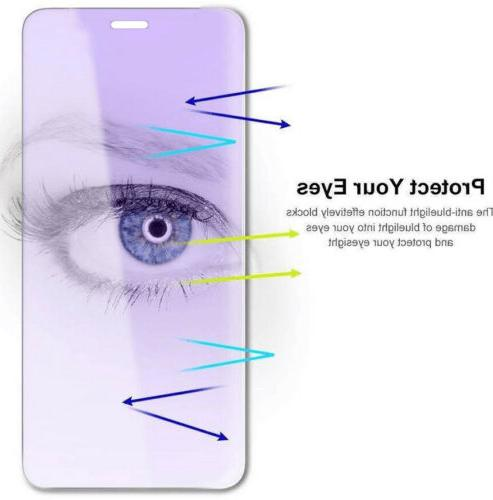 Anti-Blue Protector Tempered Glass For iPhone 11 Pro XR Plus