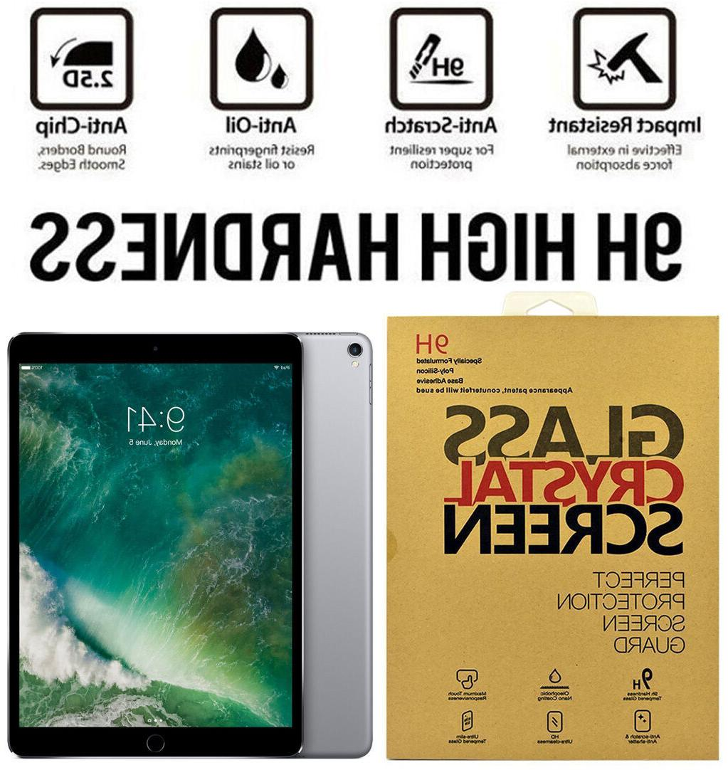 For Apple iPad Pro 10.5 inch Premium Tempered Glass Screen P