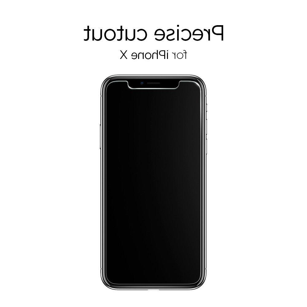 iPhone X 10 Tempered Glass Screen -