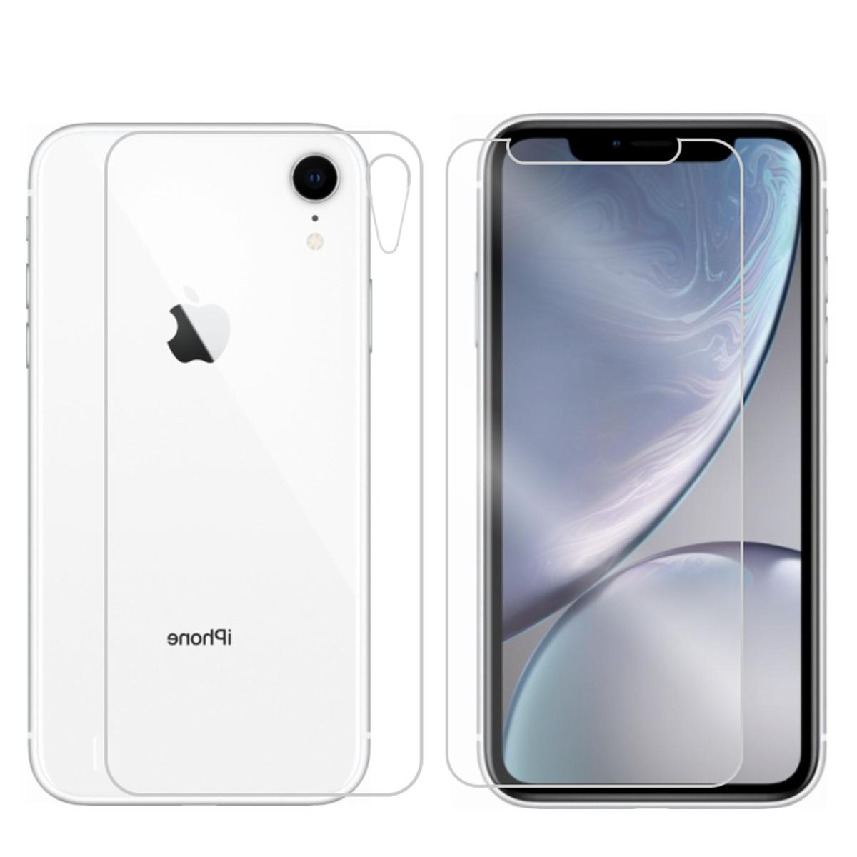 For XS Max XR and Back Glass Protector