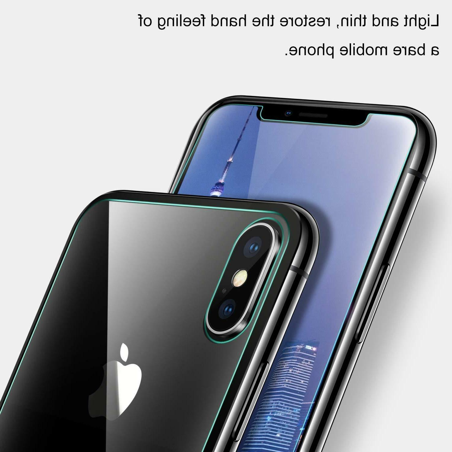 For Max XR X and 9H Glass Screen