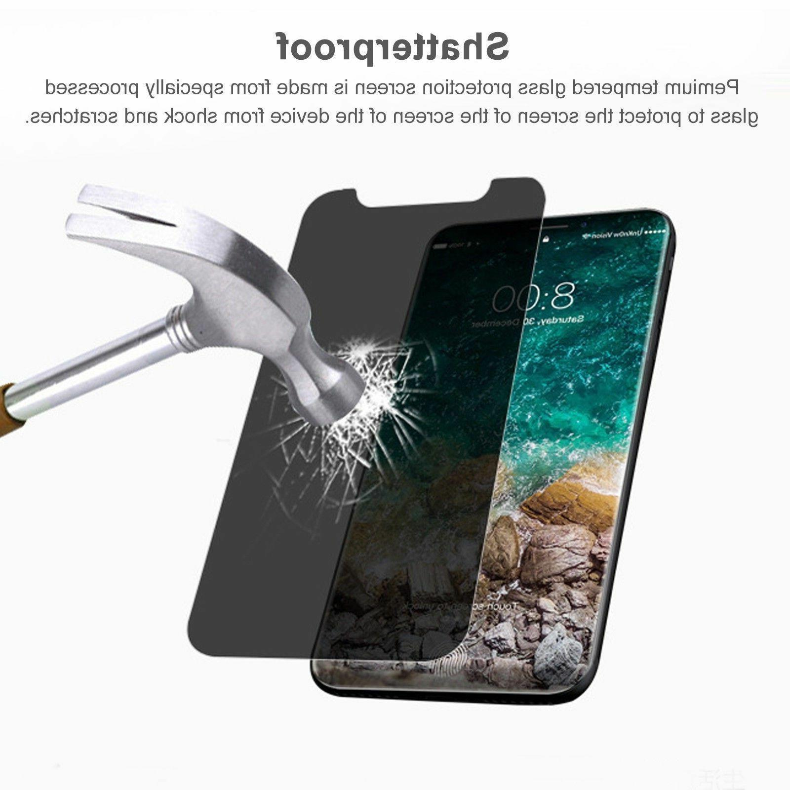 For Apple iPhone X Spy Privacy Glass Screen Protector