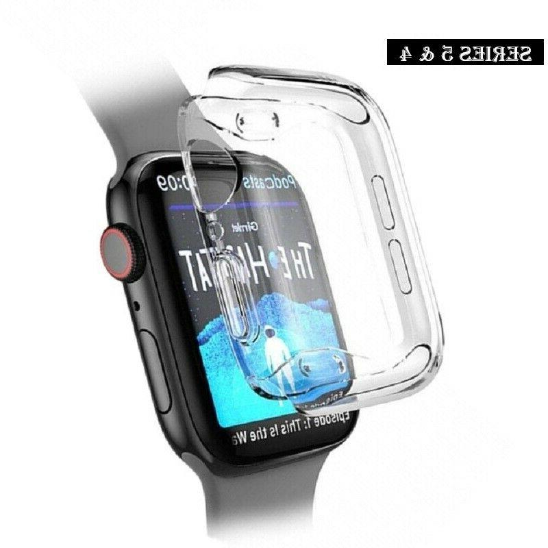 apple watch 4 screen protector cover case