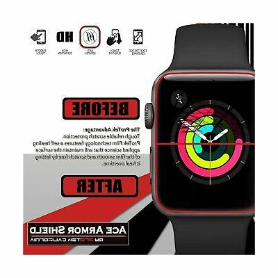 Apple Watch Series and 3 42mm Screen Protector Ace Armor Shield Fu...